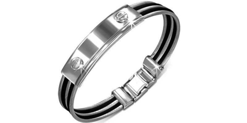 Stainless Steel Twisted Cable Bracelet