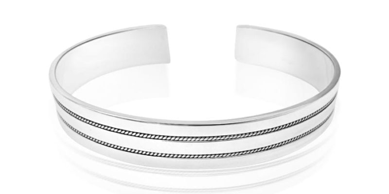 Sterling Silver Bangle by Alfred & Co. Jewellery