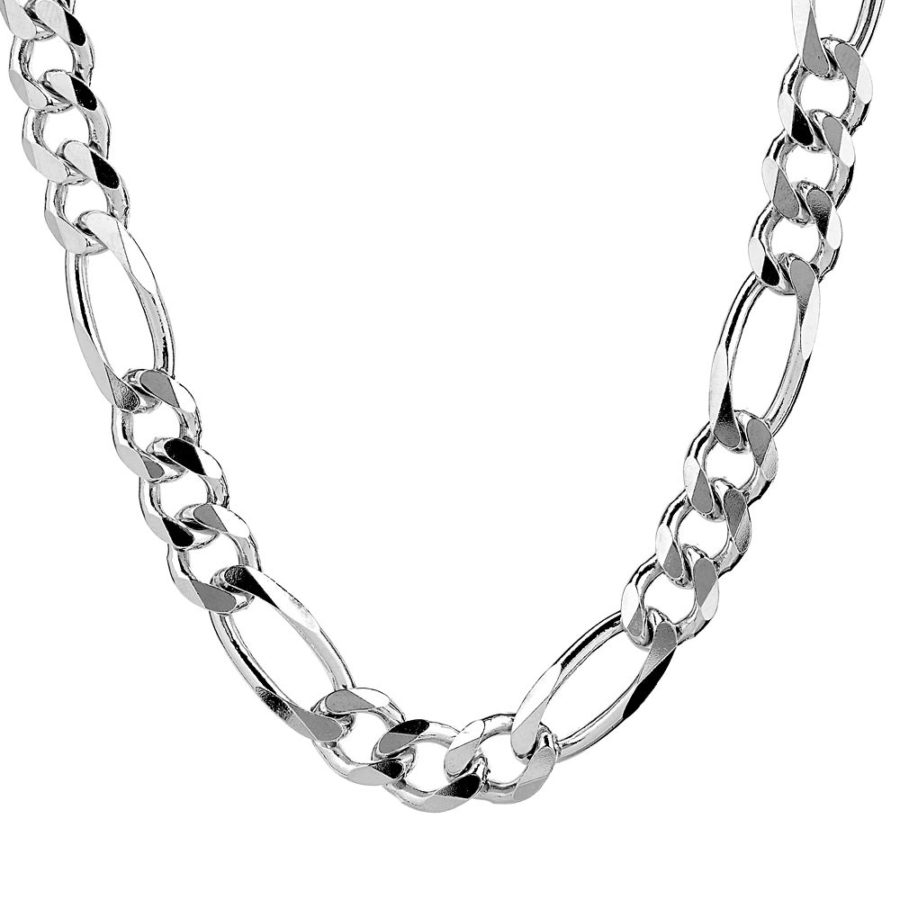 chunky silver necklace