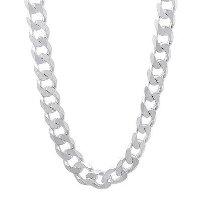 Silver Necklace 10.7mm