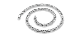 Silver Necklace - Mariner Style