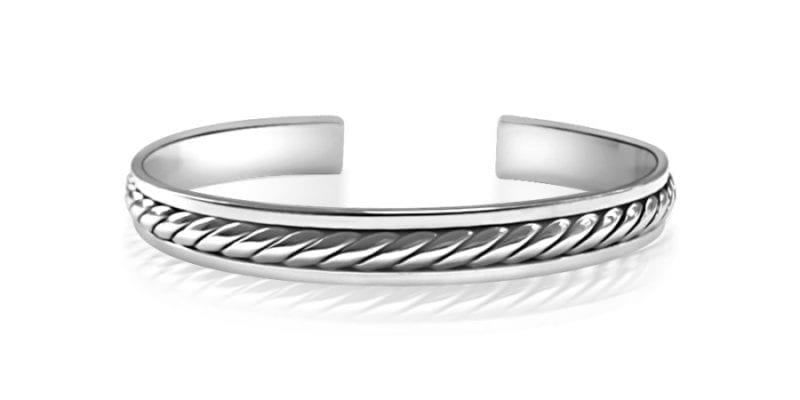 silver stacking ourshop beaded sterling bangles prod linear set bangle hammered