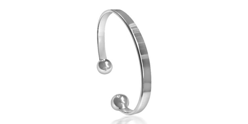Sterling Silver Torque Bangle with Alfred & Co. Jewellery Bangle Box