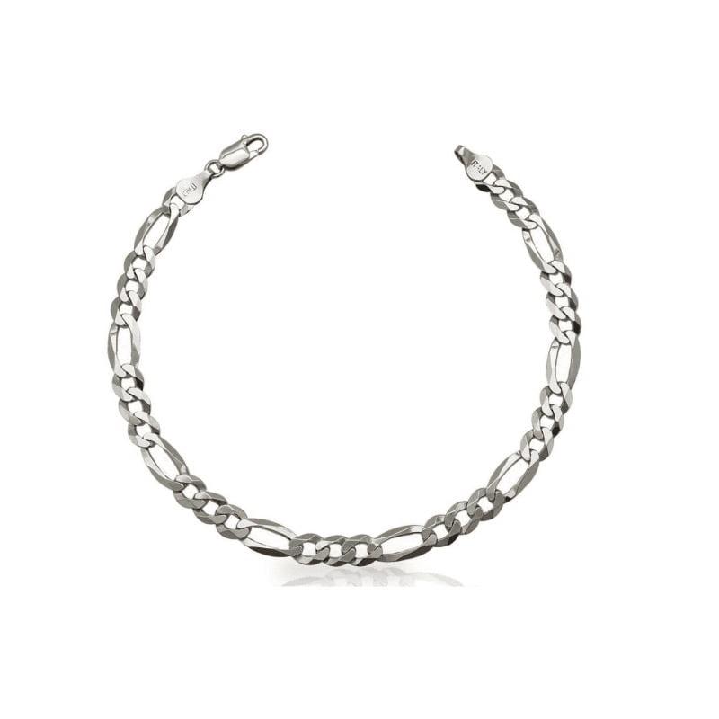 Silver Figaro Bracelet