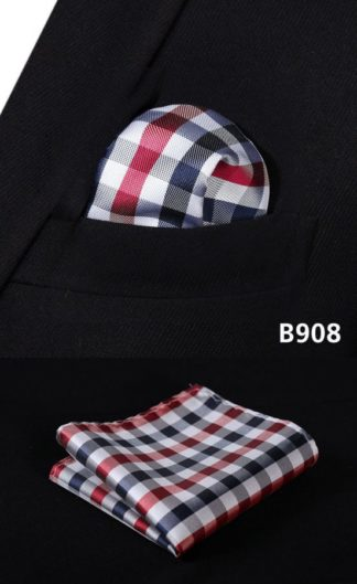 Chequered Pocket Square