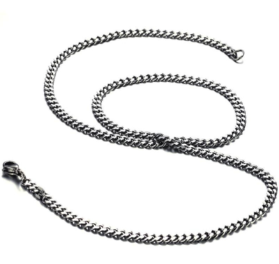 Mens Necklace Stainless Steel