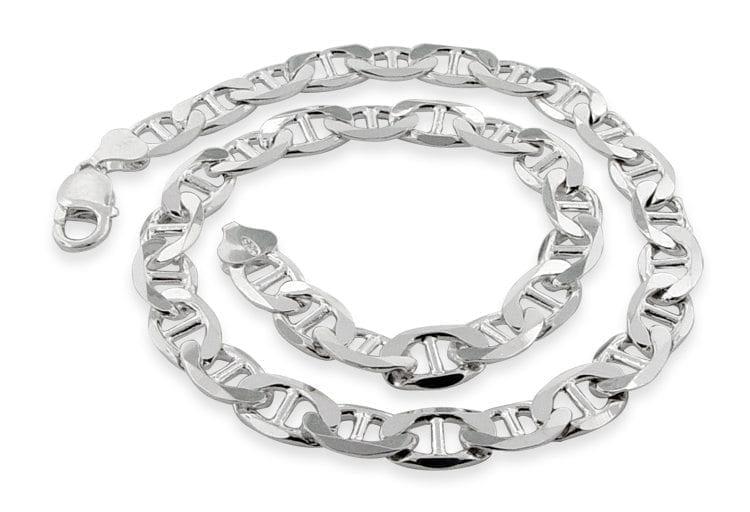 Silver Bracelet Marina Style