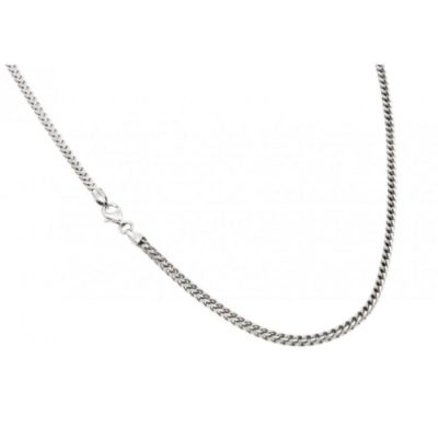 Silver Franco Necklace
