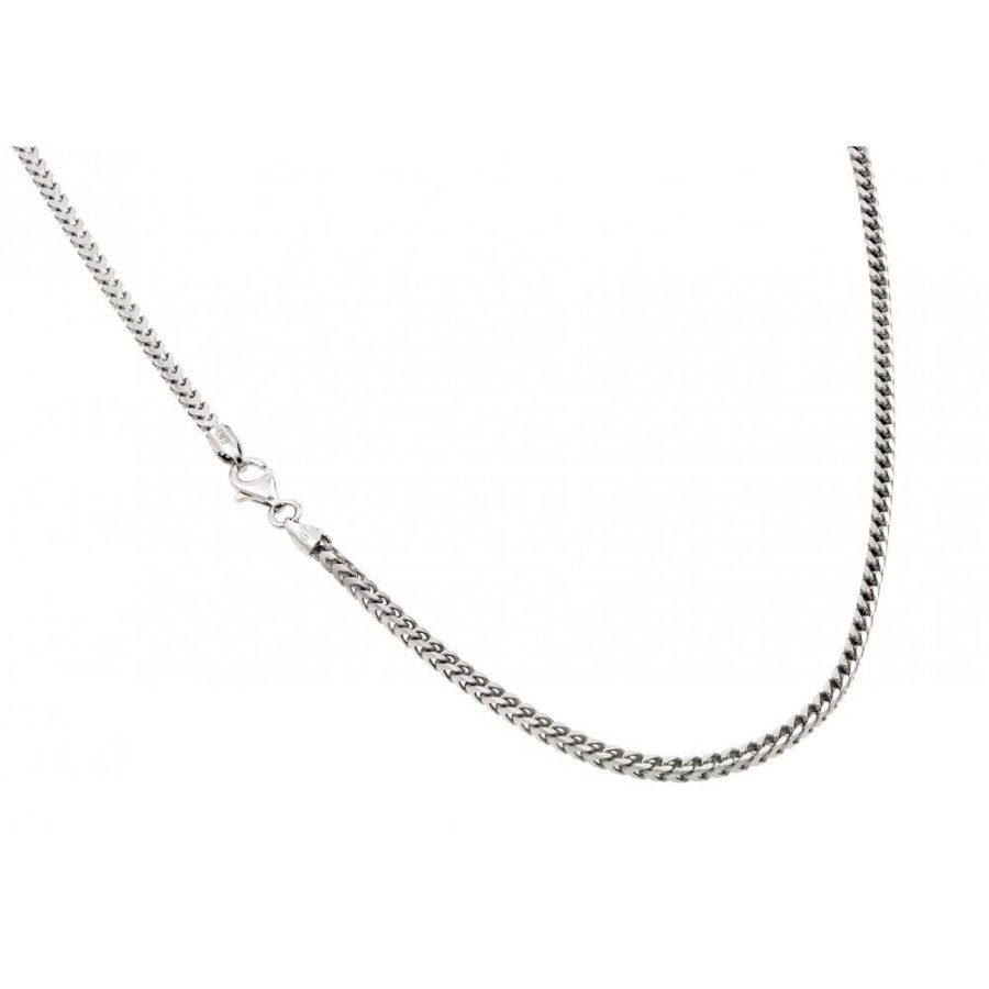 Silver Franco Necklace