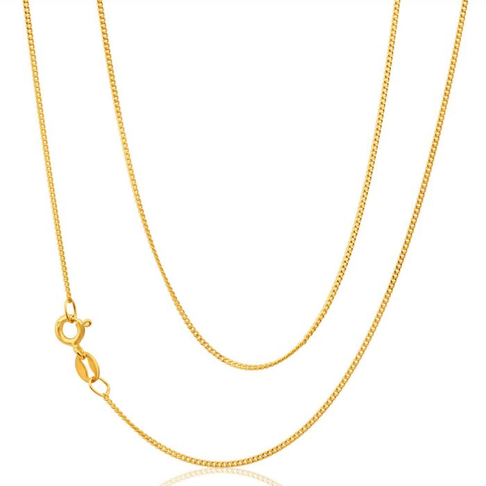 9ct Gold Chain - 1mm