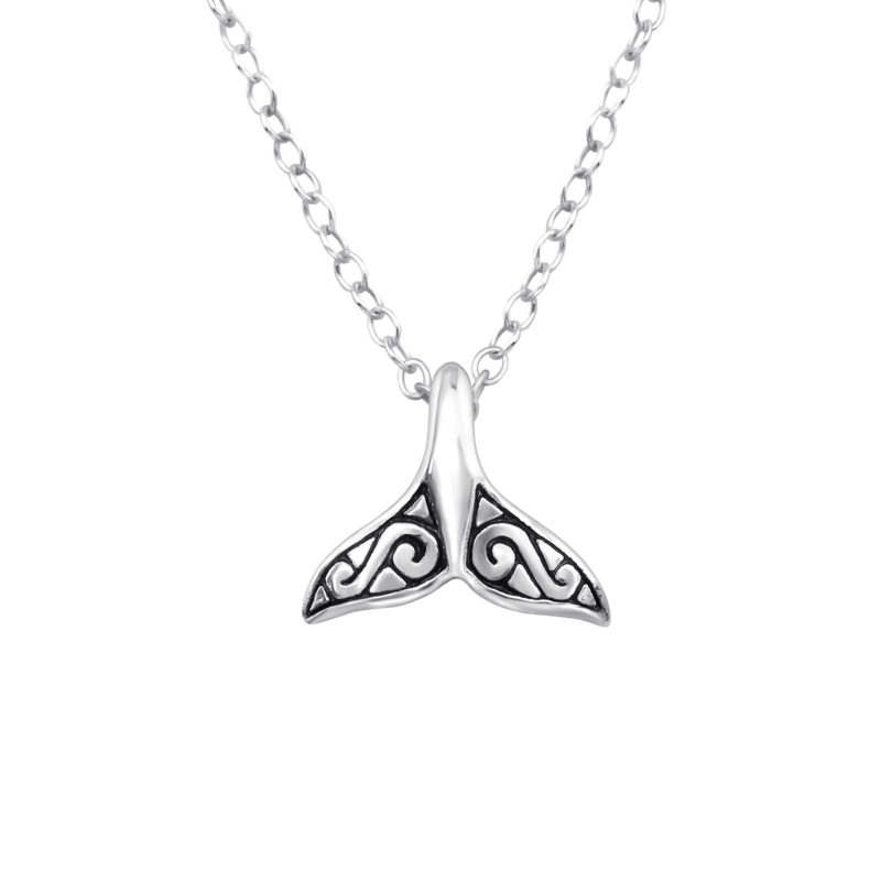 Silver Dolphin Necklace