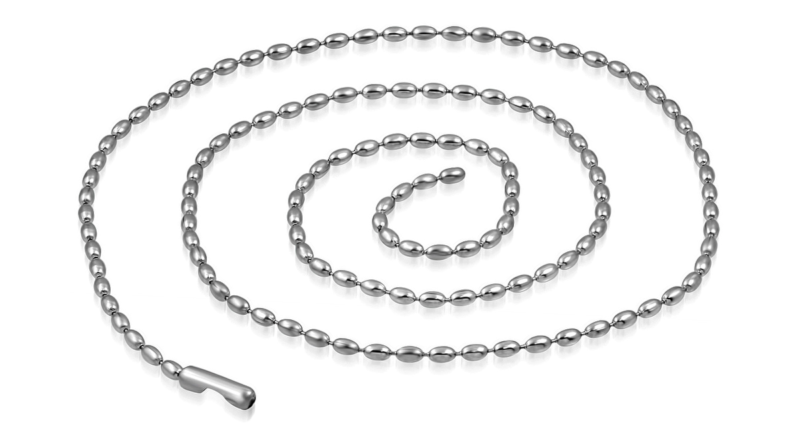 Silver Necklace Bead Style