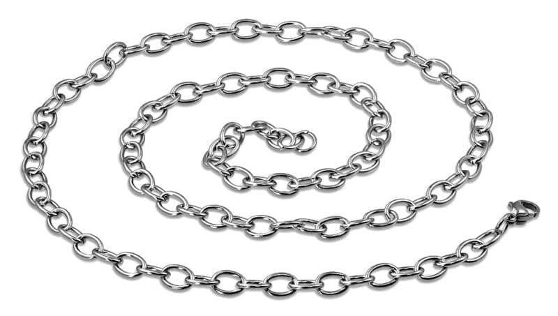 Mens Necklace Loop Style