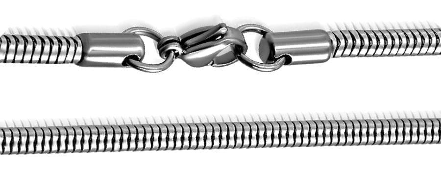 Men's Necklace Snake