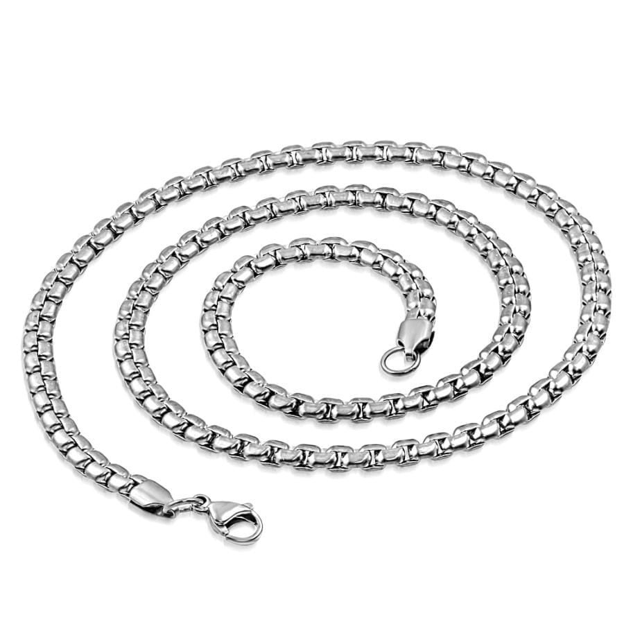 Mens Necklace Rolo Style