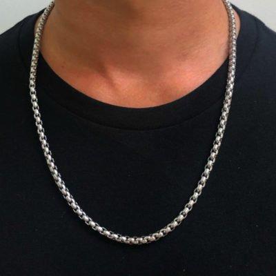 Mens Necklace - Rolo
