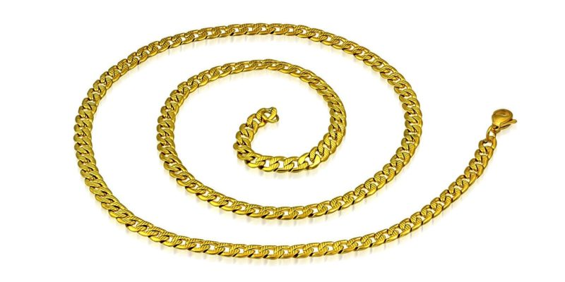 Mens Gold Plated Chain