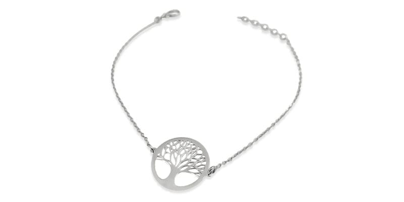 Mulberry Tree of Life Bracelet in Sterling Silver