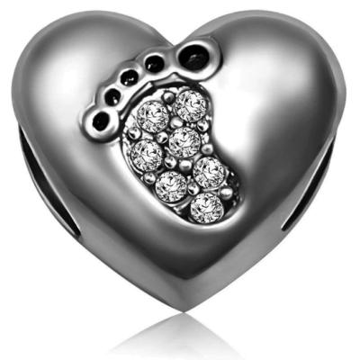 Footprint Charm