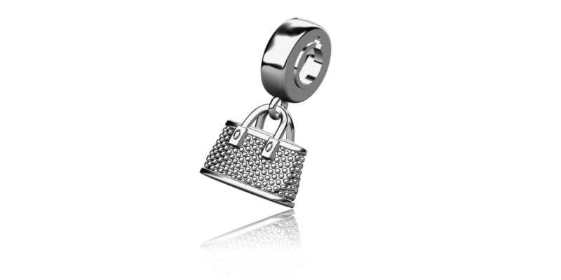 Handbag Charm – Sterling Silver