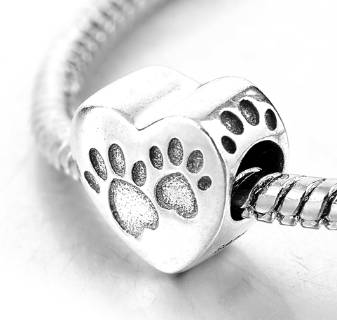 Dog Paws Charm