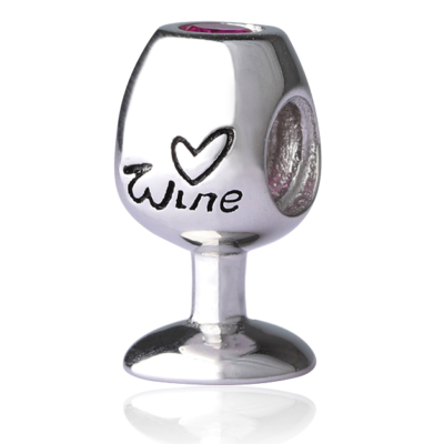 Wine Glass Charm