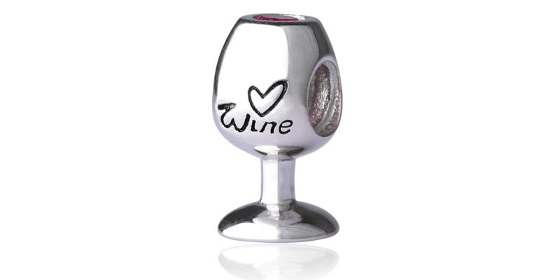Wine Glass Charm