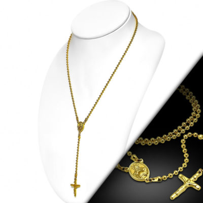 Gold Cross Chain