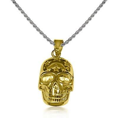Gold Skull Chain
