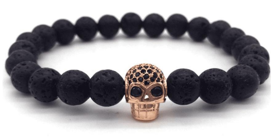 Mens Skull Bracelet
