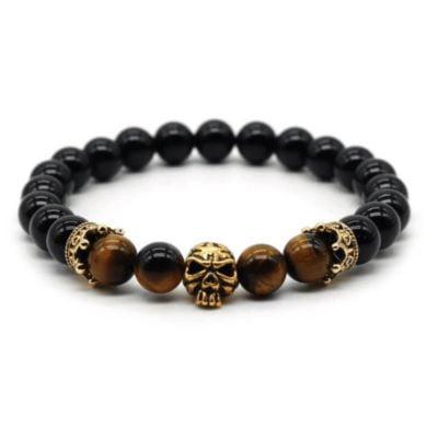 Skull & Crown Bracelet