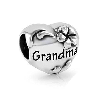 Grandma Heart Charm