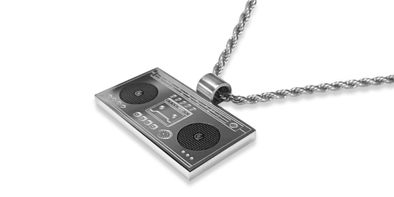 Hi-Fi Necklace