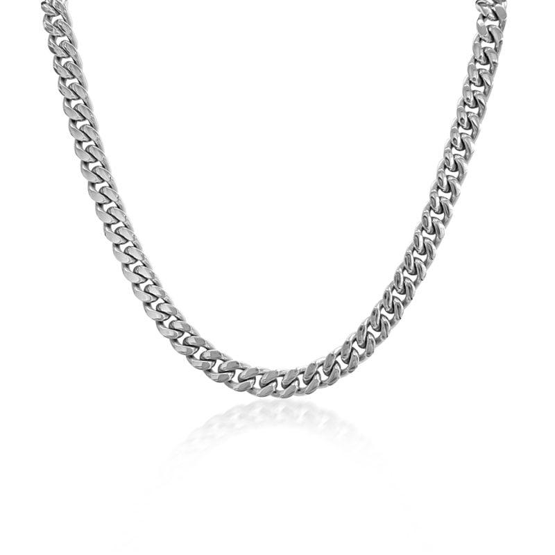 Mens Silver Necklace