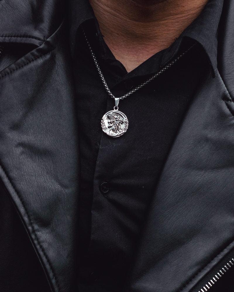 Zeus Necklace Silver