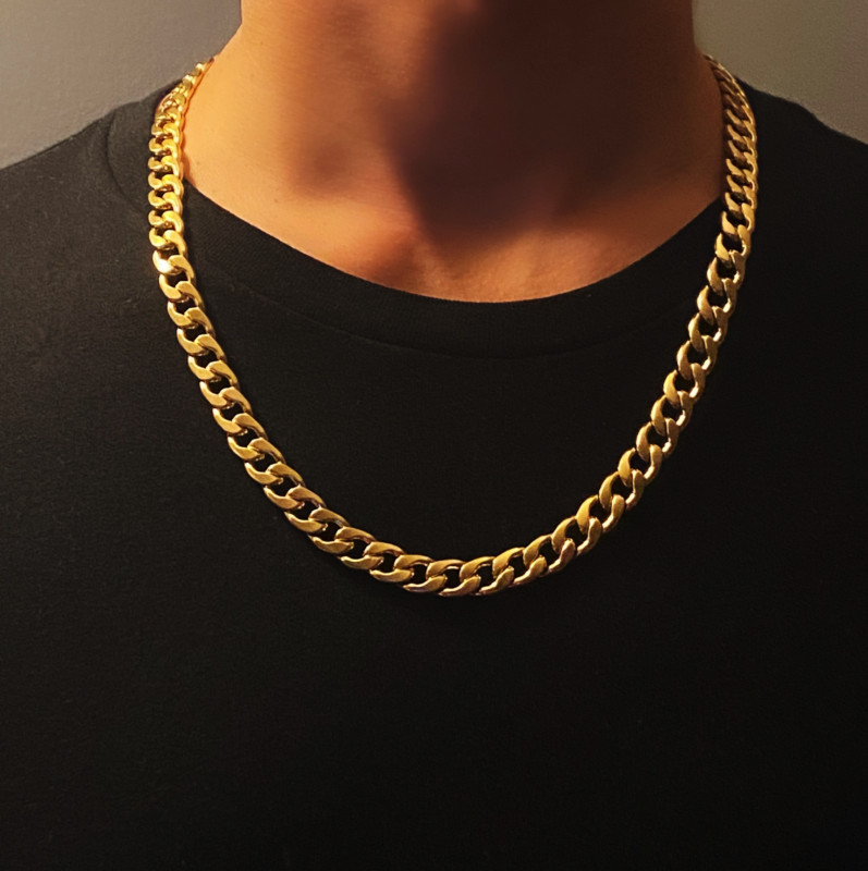 Cuban Necklace - Gold Lava II