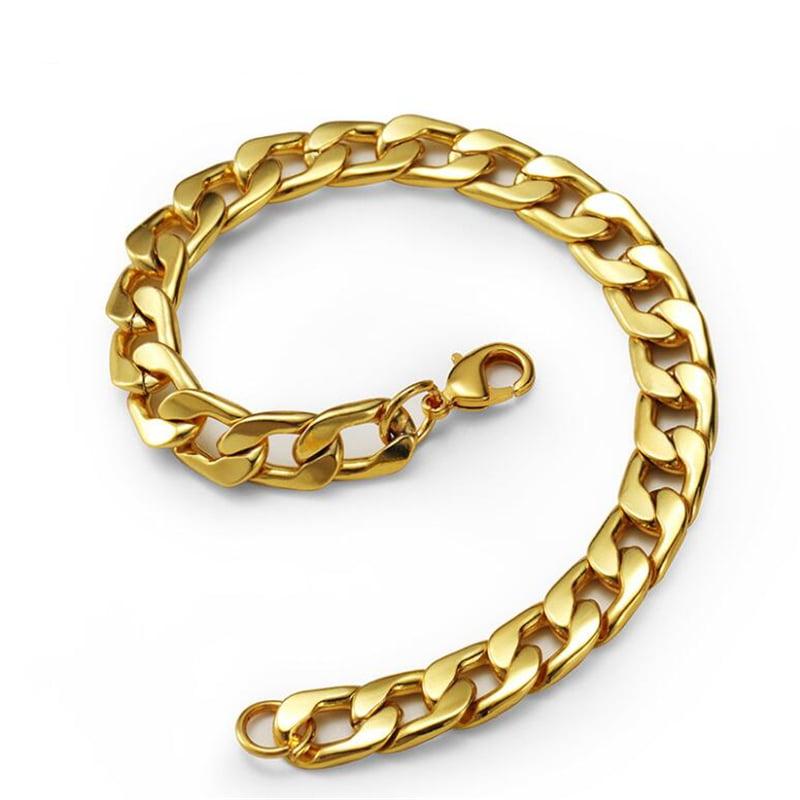 Gold Bracelet Cuban Curb