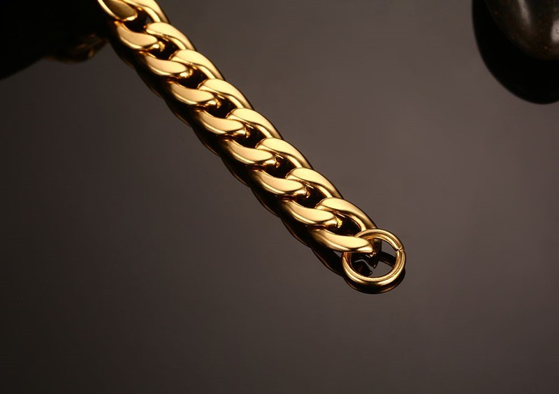 Gold Bracelet Cuban