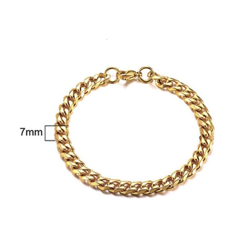 Gold Bracelet - Lava