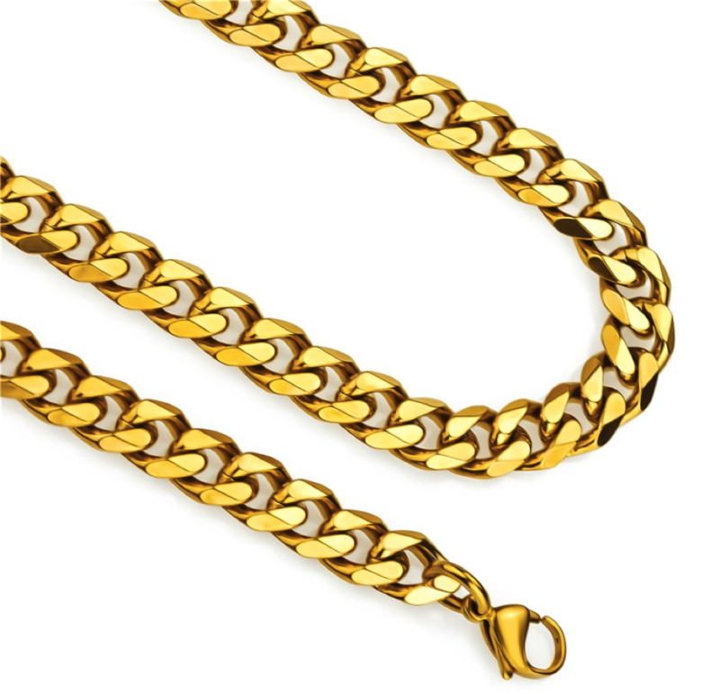 Gold Chain Curb