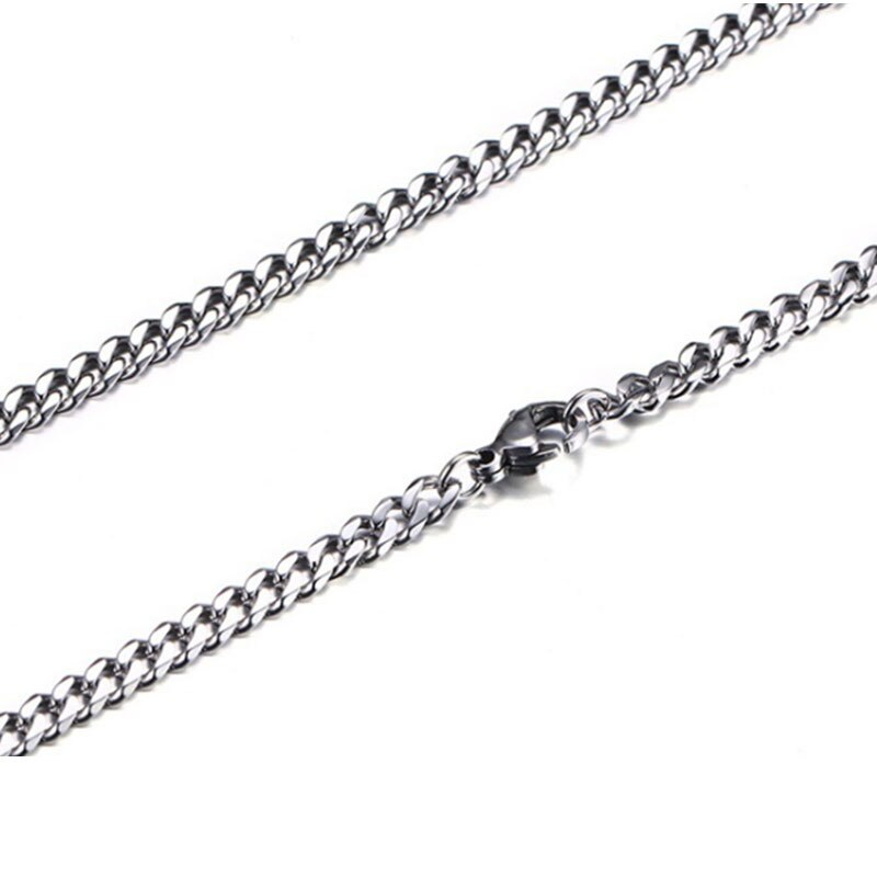 Mens Thin Necklace