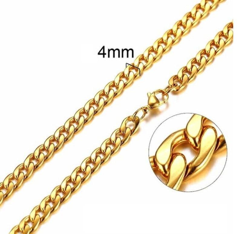 Cuban Necklace Gold