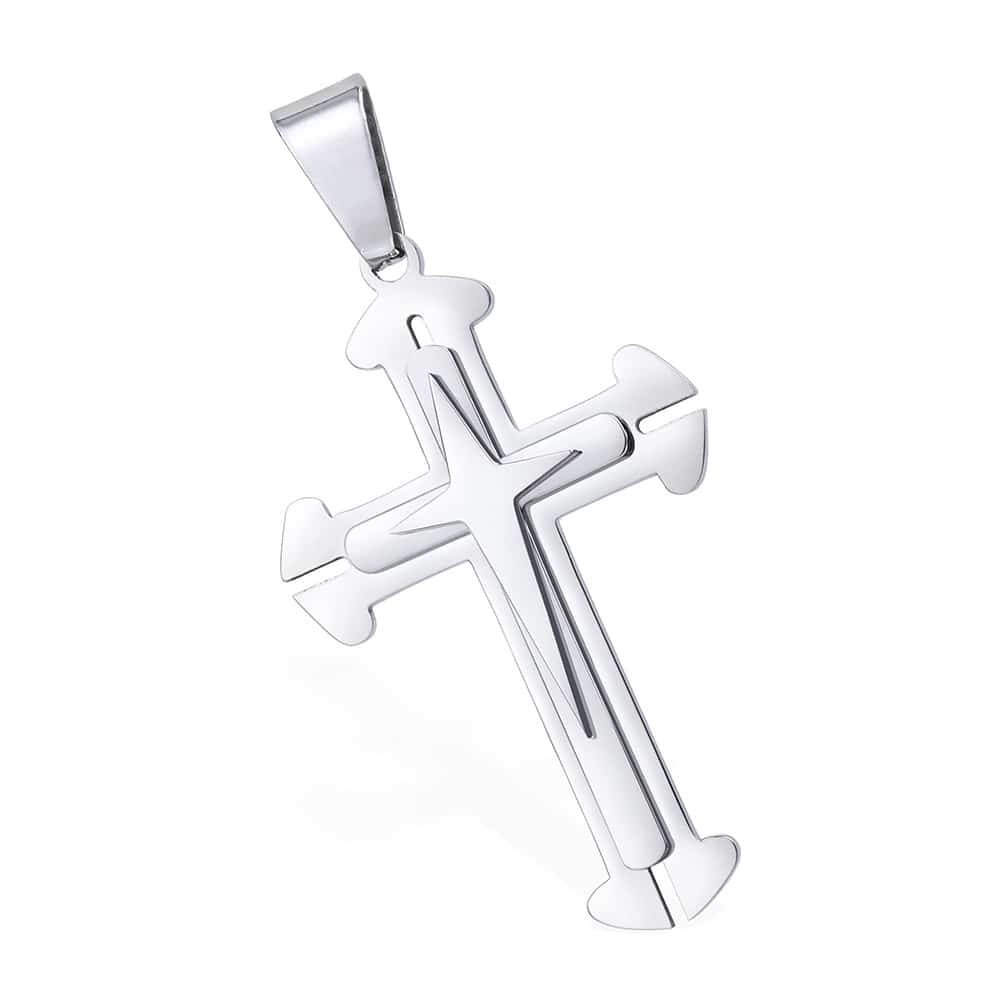 Cross Pendant Silver