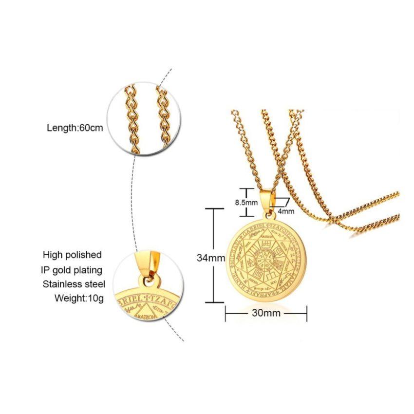Seven Seals Necklace