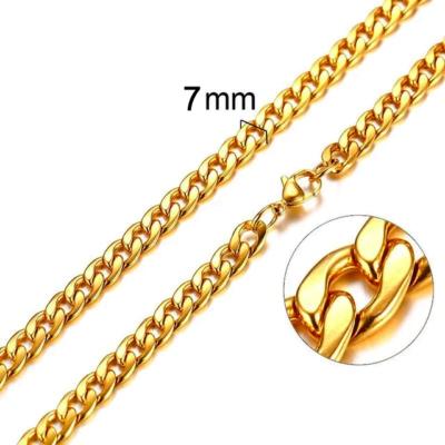 Mens Cuban Necklace