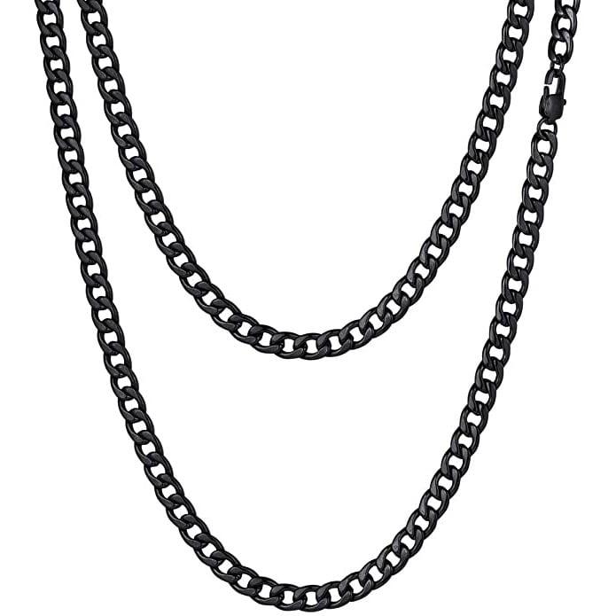 Cuban Necklace Black