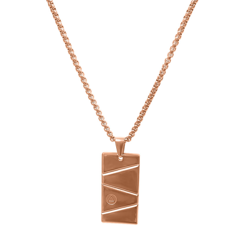 Rose Gold Pendant Chain