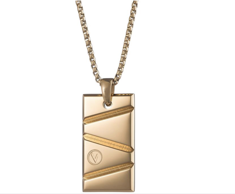 Men's Gold Prizm Pendant Necklace – Gold Prizm©