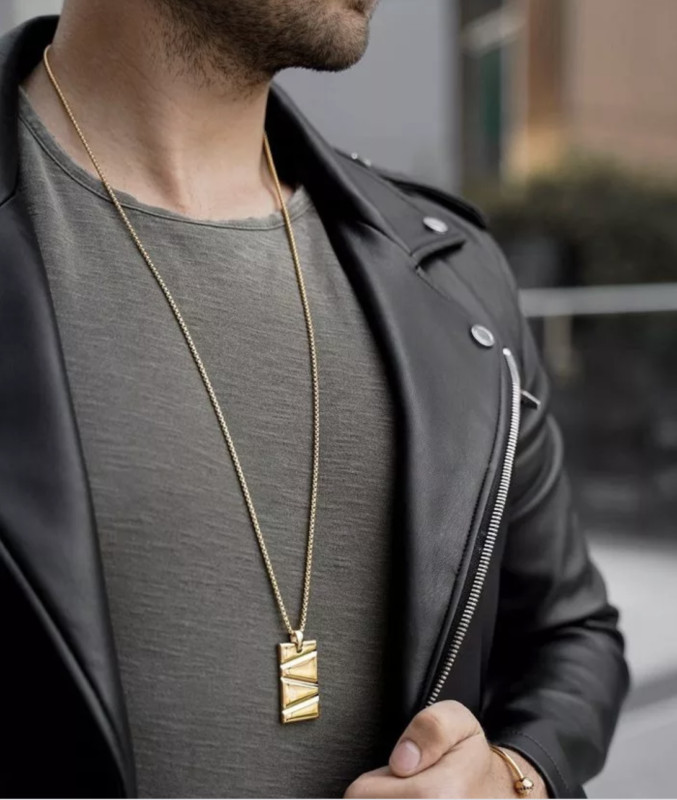 Prizm Necklace Gold