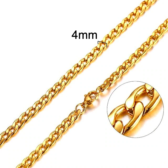 Cuban Gold Necklace